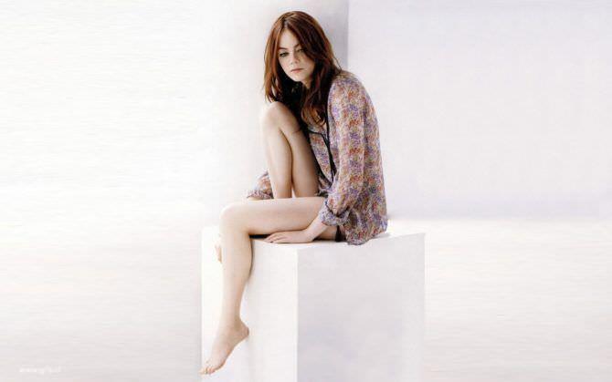 Эмма Стоун фото на кубе