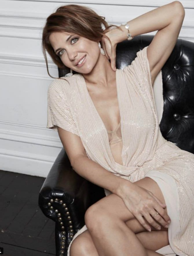 Екатерина Климова фото в светлом платье