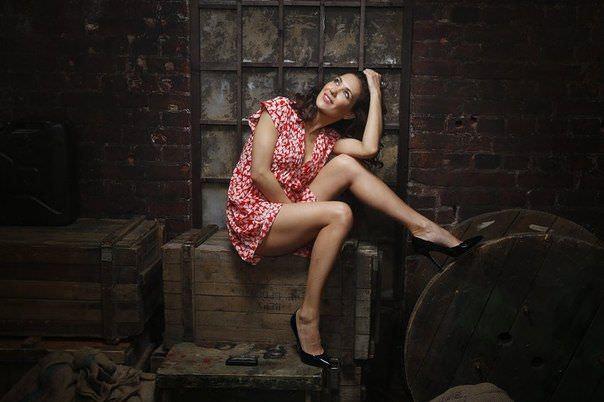 Екатерина Климова фото в летнем платье
