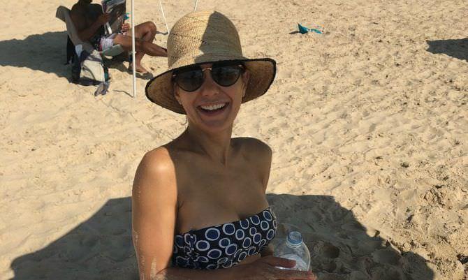 Екатерина Климова фото на пляже