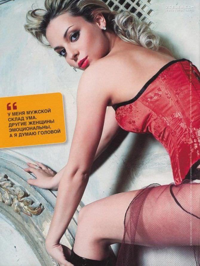 Дарья Сагалова фото для журнала