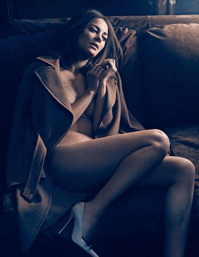 Марион Котийяр фото в пальто