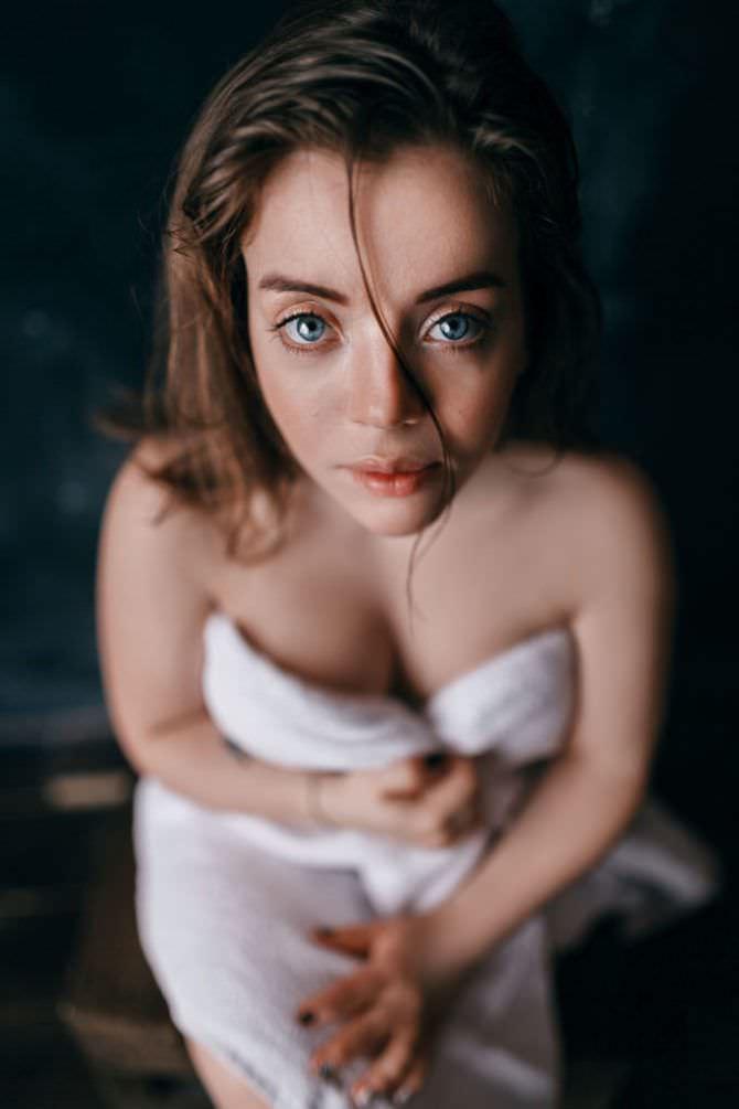 Олимпия Ивлева фото в полотенце