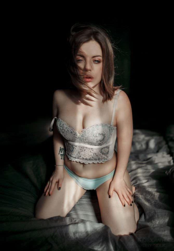 Олимпия Ивлева фотосессия в белье