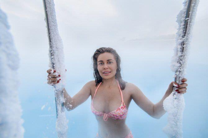 Юлия Михалкова фото в проруби