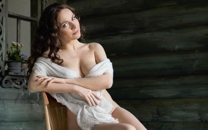 Екатерина Гусева фото в шали