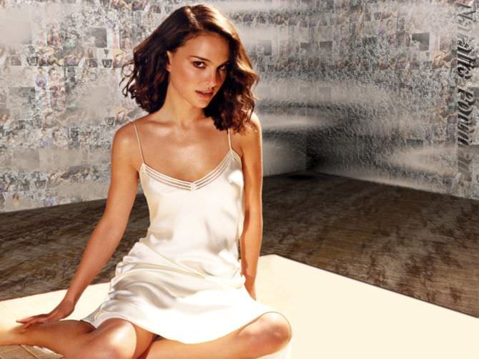 Натали Портман фото в сорочке