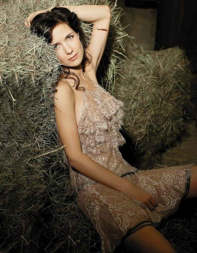Екатерина Климова фото на сене