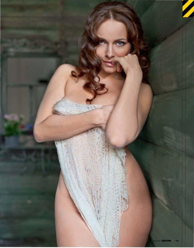 Екатерина Гусева фото с шалью