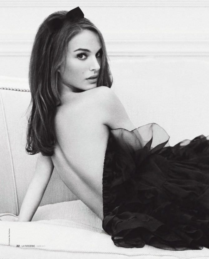 Натали Портман фото в расстёгнутом наряде
