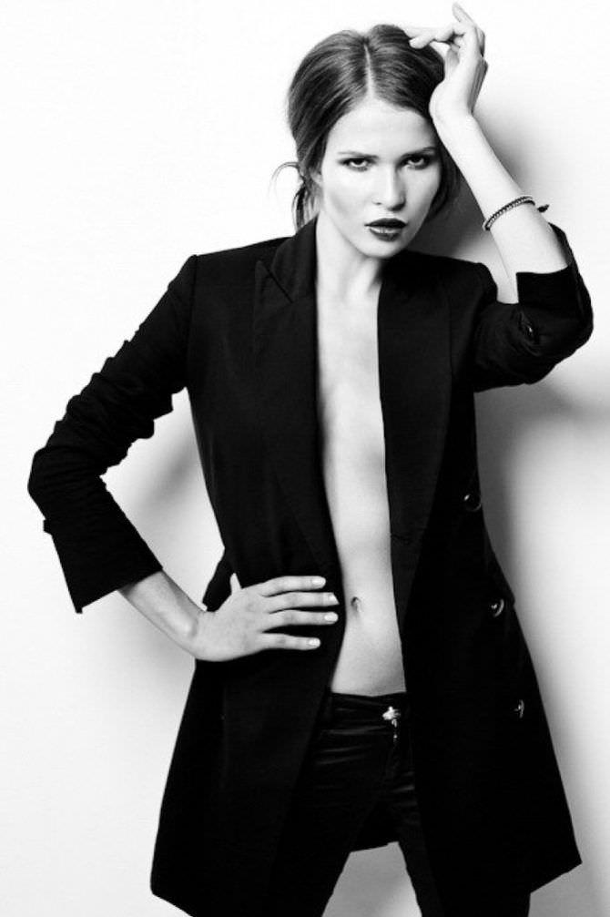 Лукерья Ильяшенко фото в пиджаке