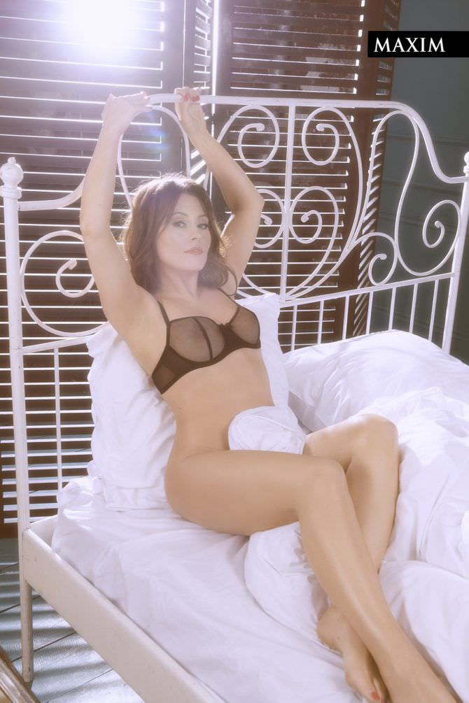 Мария Кравченко фото в кровати