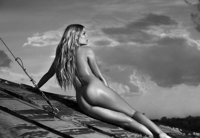 Наталья Рудова фотосессия на крыше