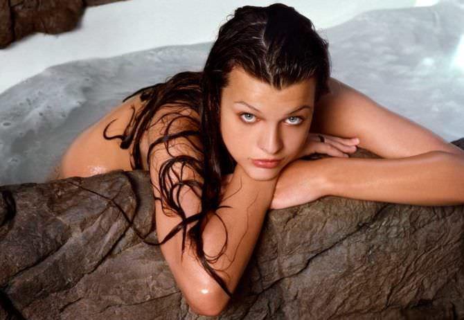 Милла Йовович фото в молодости