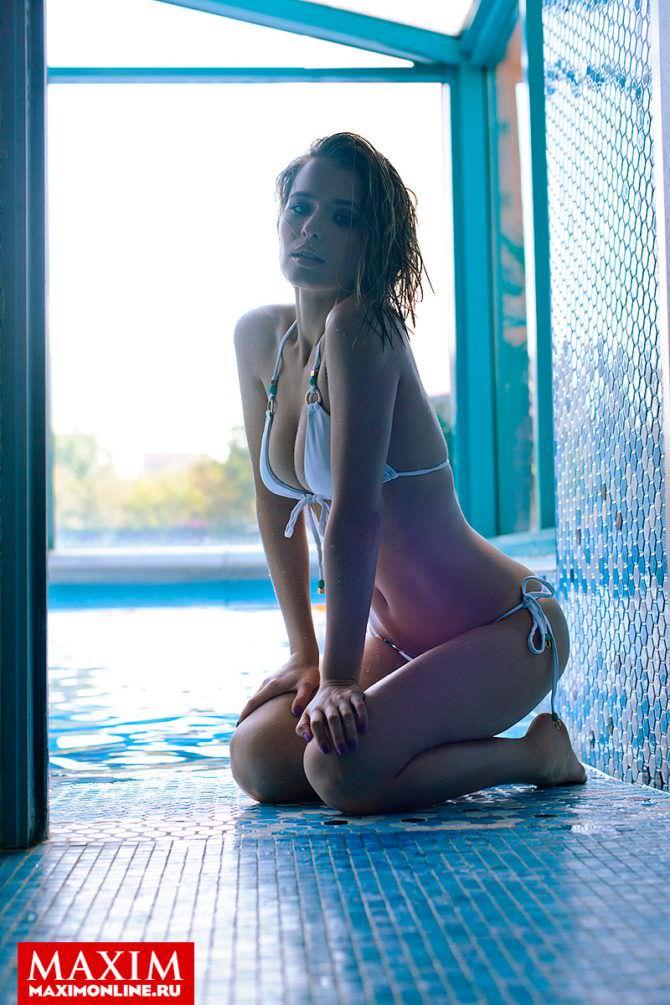 Любовь Аксенова кадр с фотосессии