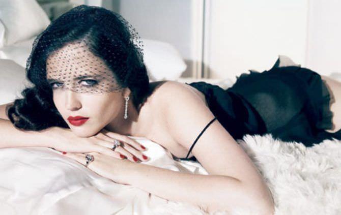 Ева Грин фотография с вуалью