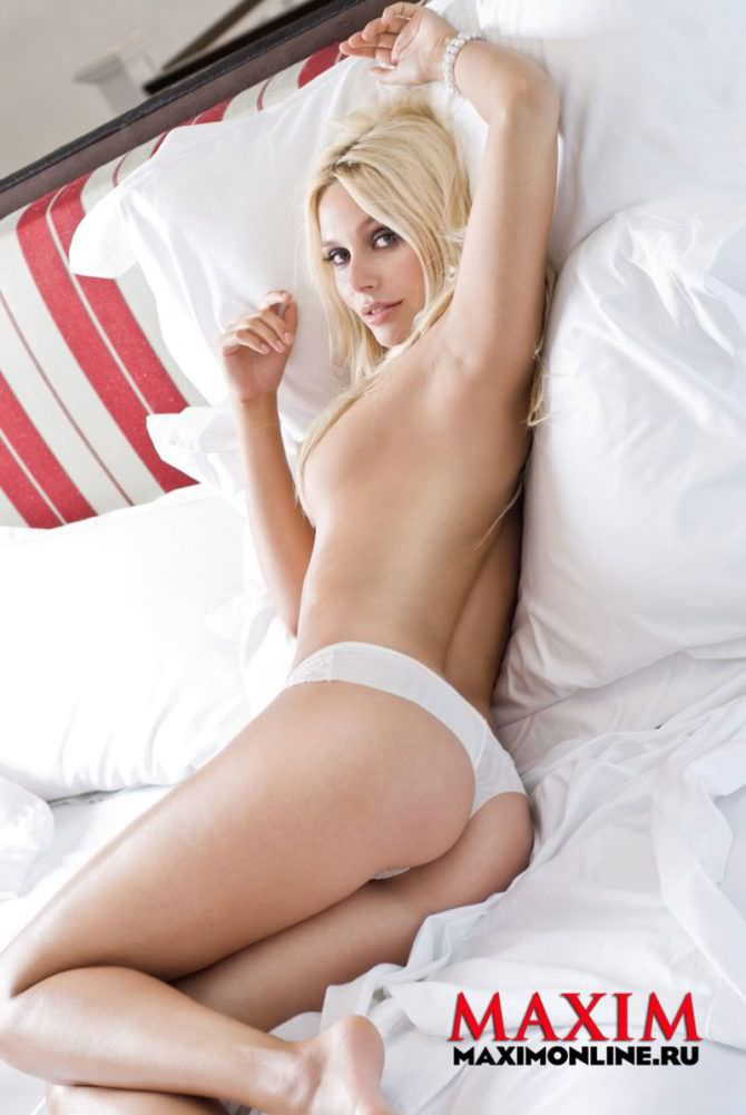 Наталья Рудова фотосессия в журнале 2010