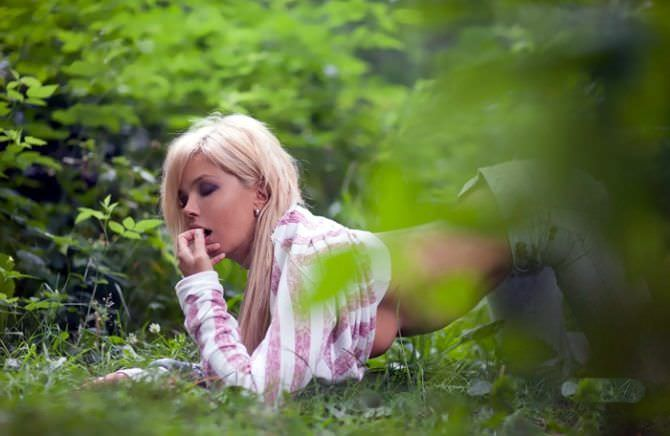 Карина Зверева фото на природе