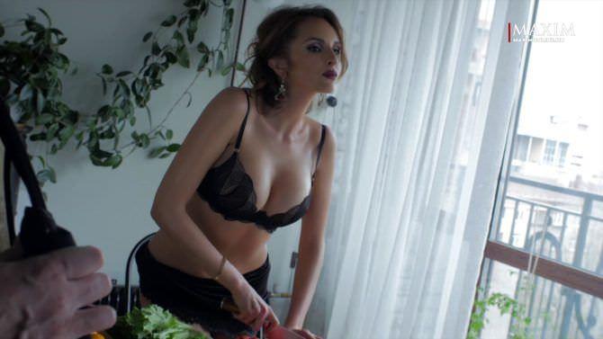 Софья Каштанова фотосессия в журнале