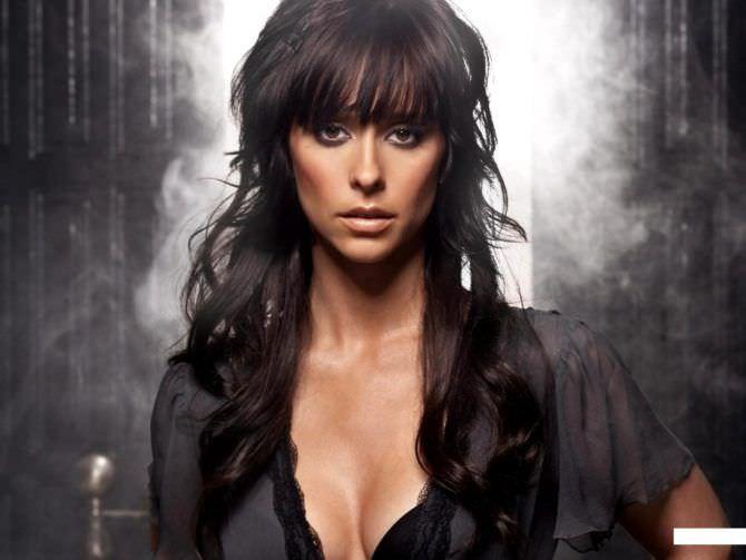 Дженнифер Лав Хьюитт фото с чёрными волосами