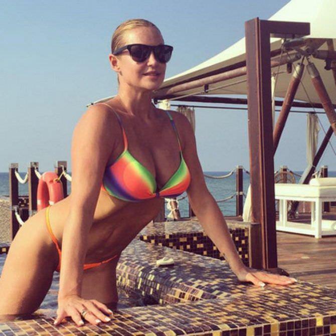 Анастасия Волочкова фото с отдыха