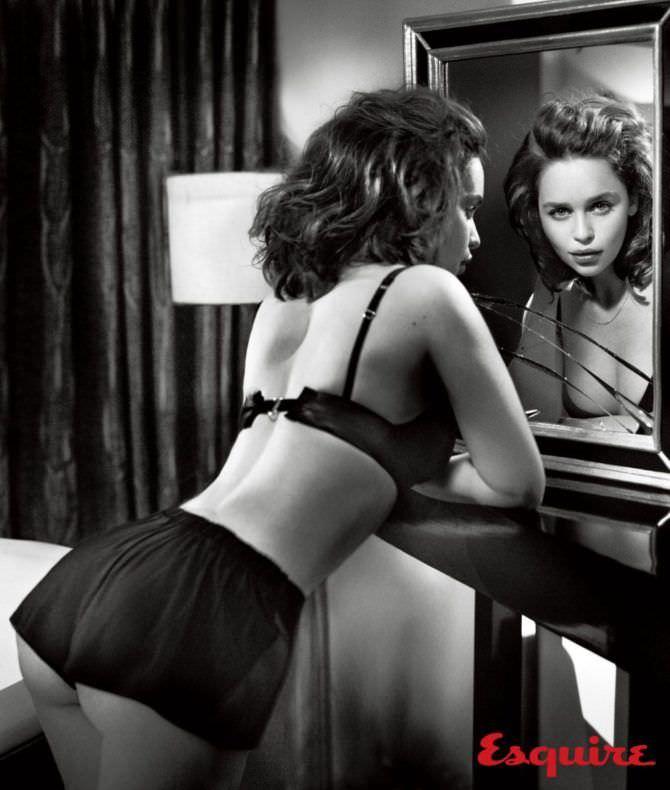 Эмилия Кларк фотография для журнала Эскваер