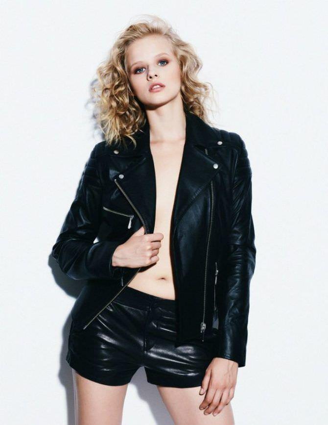 Александра Бортич фото в куртке
