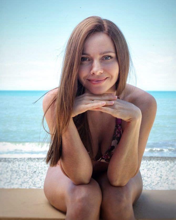 Екатерина Гусева фото на пляже