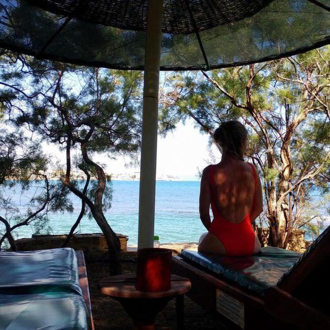 Рина Гришина фото в купальнике