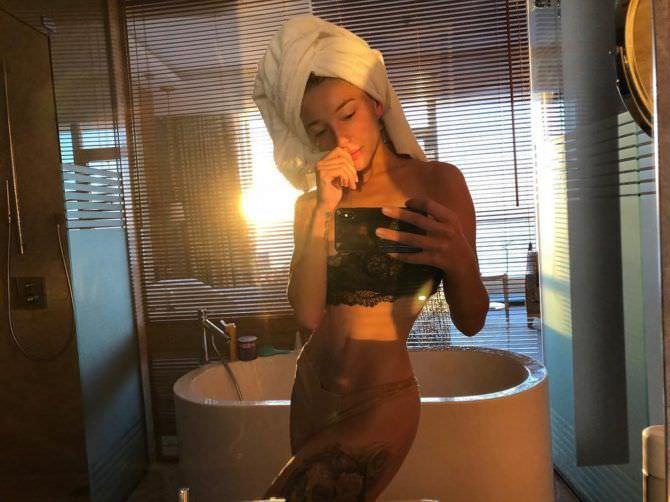 Анастасия Ивлеева фото после душа
