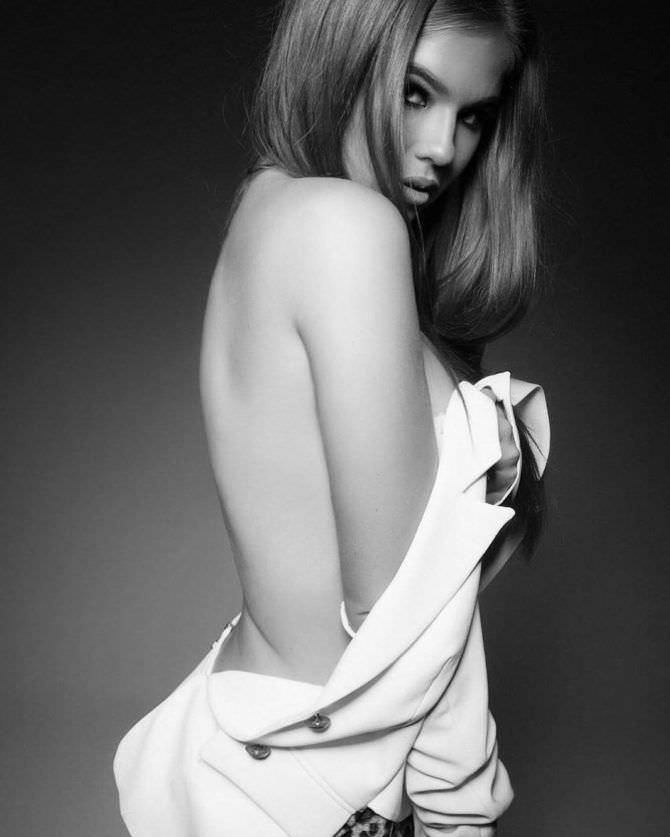 Мила Сайфутдинова фотография в рубашке