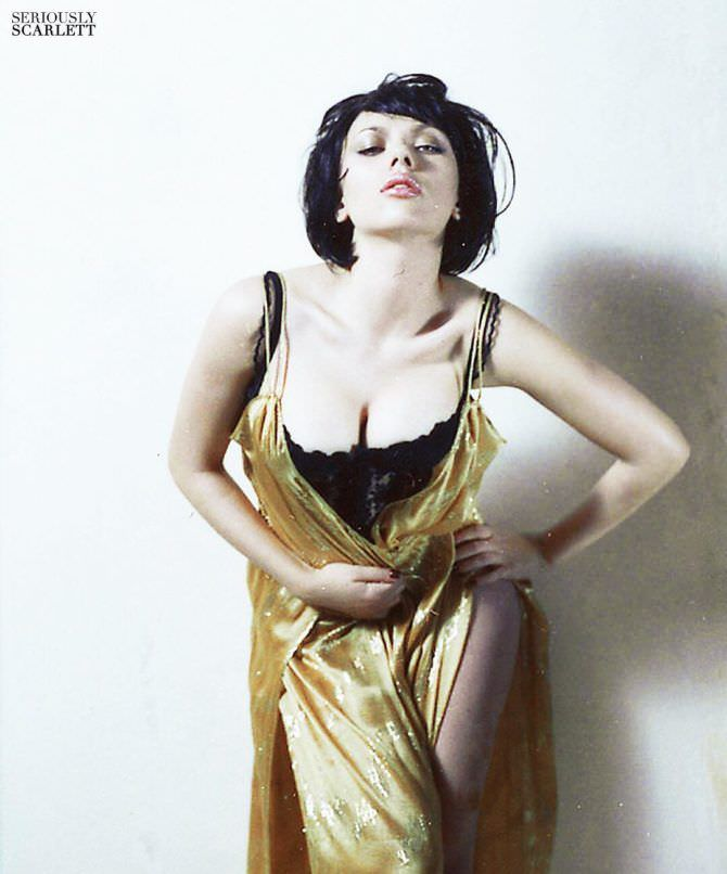 Скарлетт Йоханссон фото в платье из инстаграм