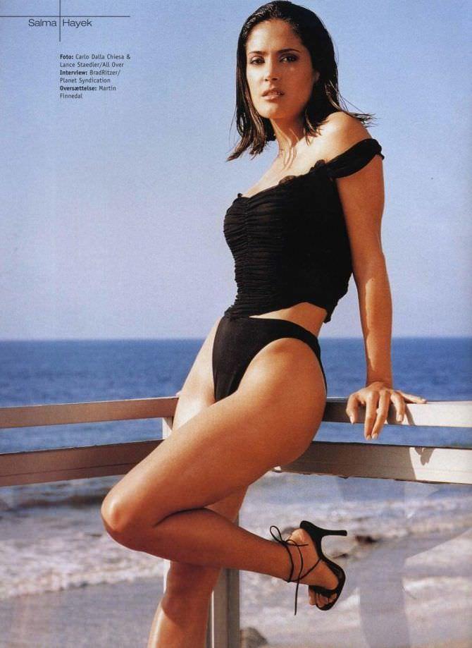 Сальма Хайек фото в журнале
