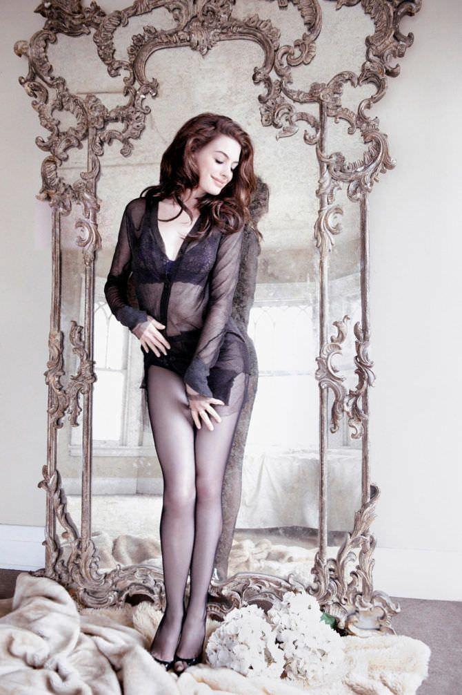 Энн Хэтэуэй фотография для журнала