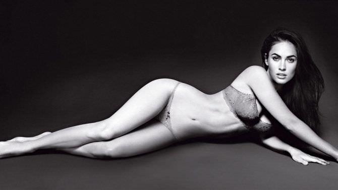 Меган Фокс фотография в нижнем белье