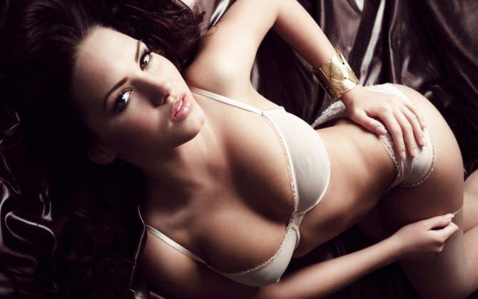Сабина Емельянова фото в белом белье