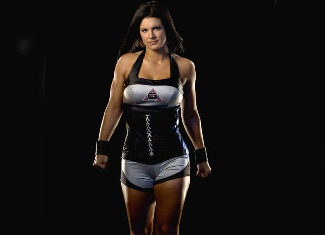 Джина Карано фото в спортивном костюме