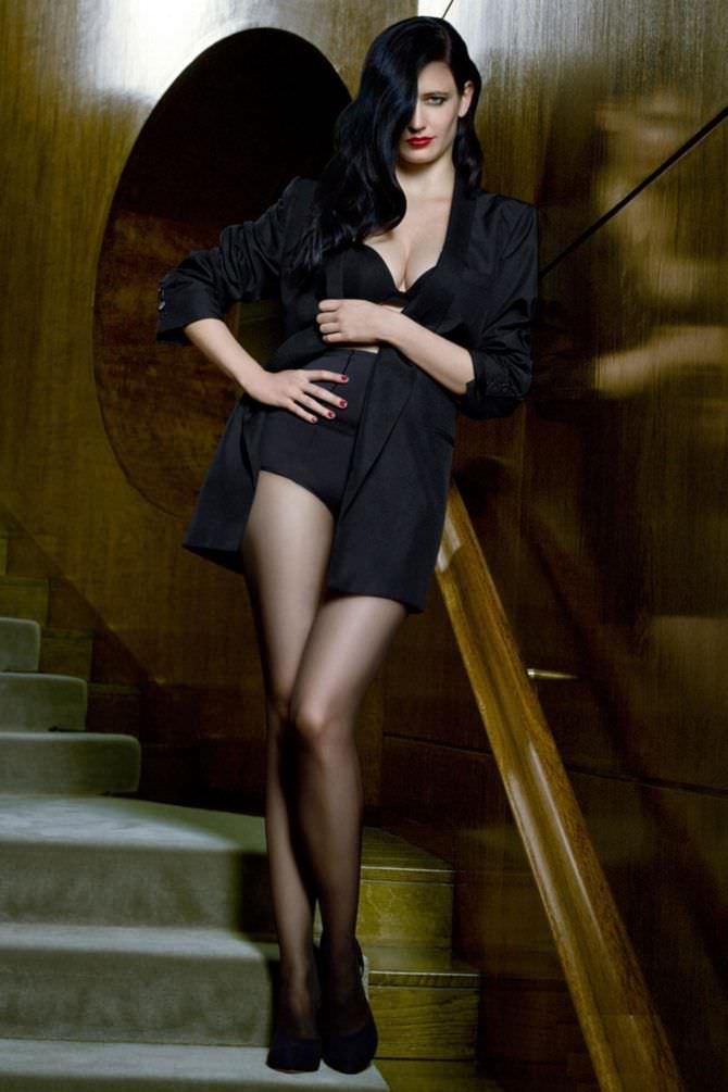 Ева Грин фото в пиджаке