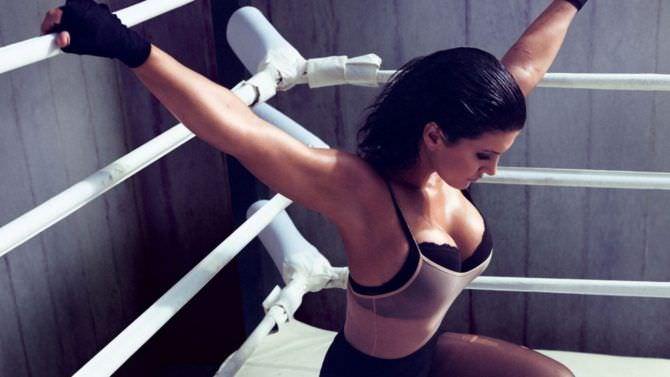 Джина Карано фото на ринге