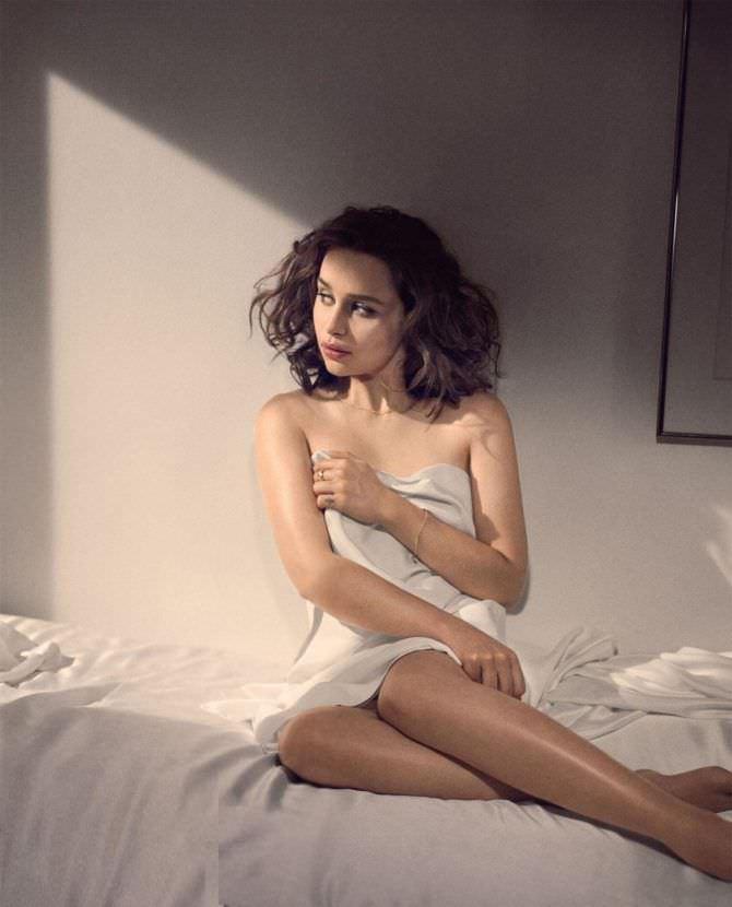 Эмилия Кларк фото в журнале