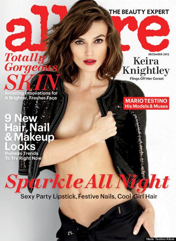 Кира Найтли фото с обложки журнала