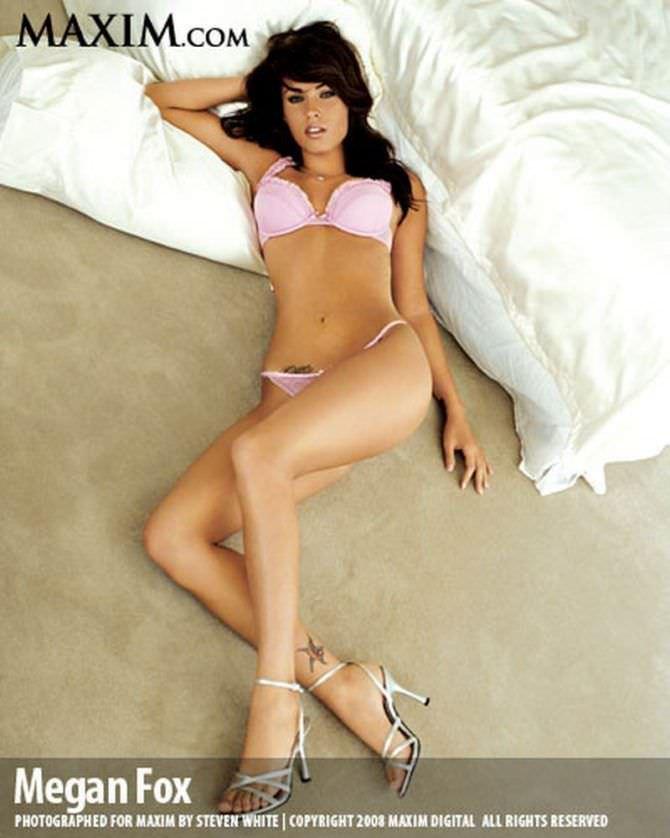 Меган Фокс фото для журнала