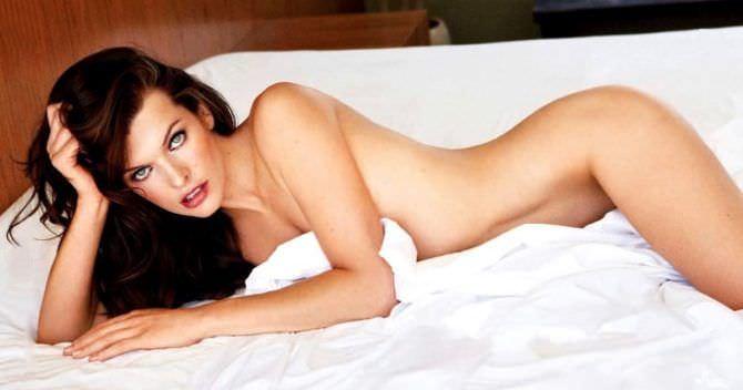 Милла Йовович фото из журнала 2009