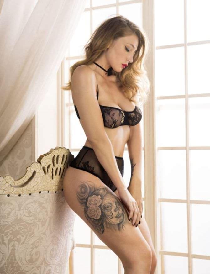 Анастасия Ивлеева фото в кружевном белье