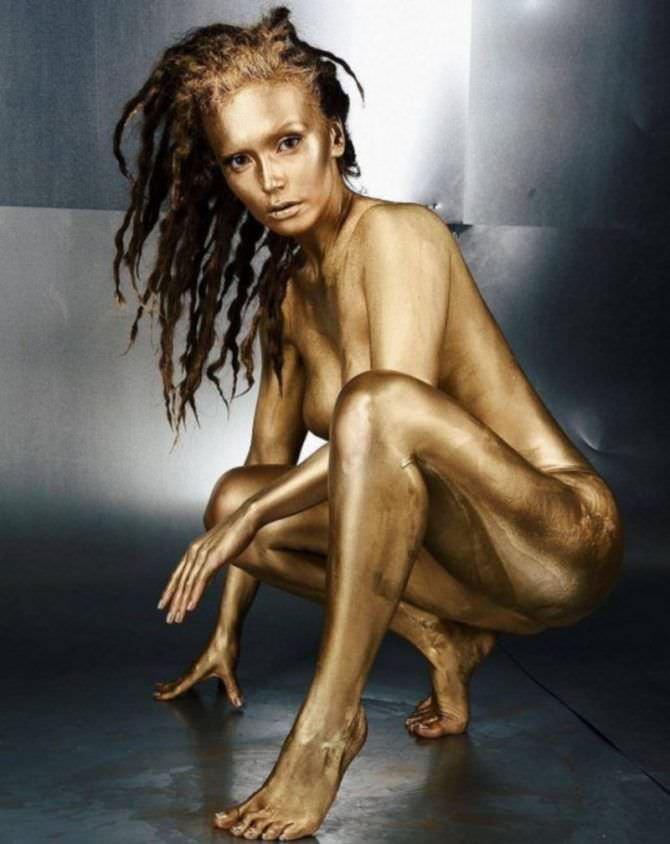Ольга Серябкина золотая фотосессия