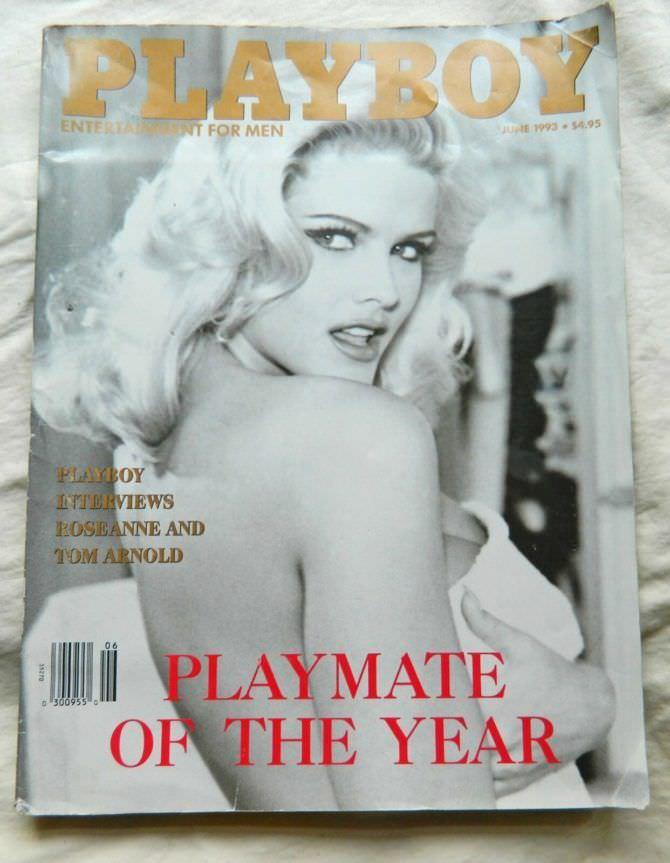 Анна Николь Смит фото обложки журнала