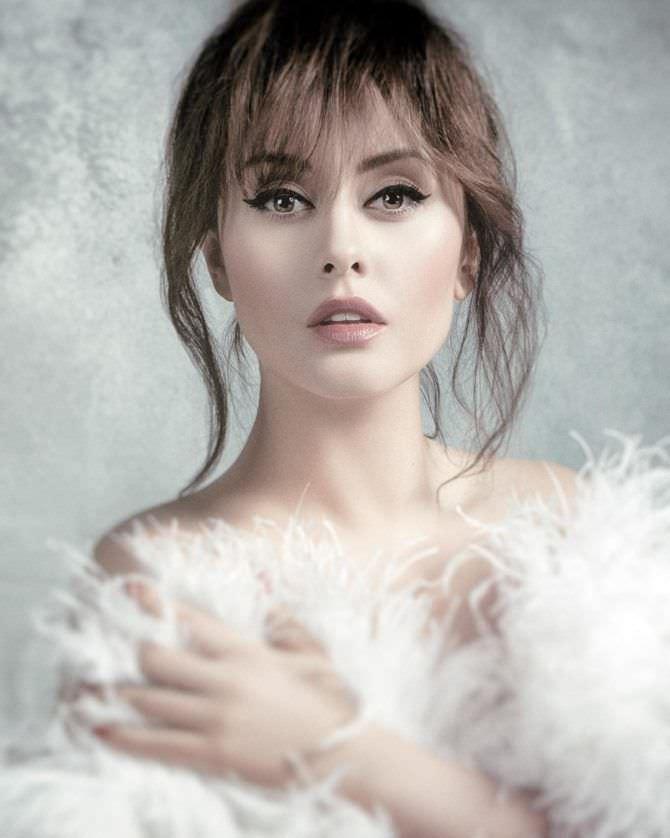 Мария Кравченко фото в мехе