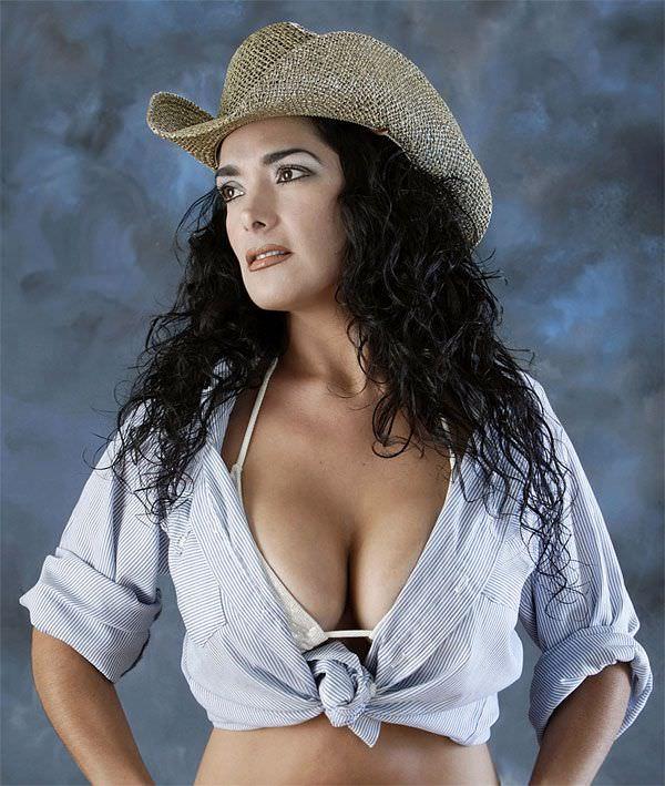 Сальма Хайек фото ковбой