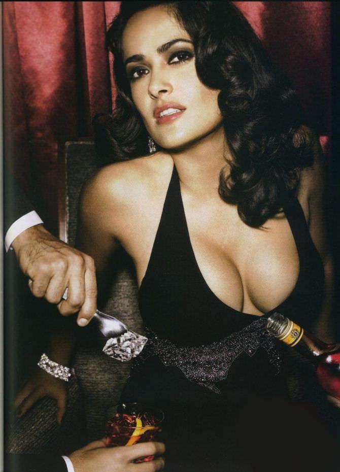 Сальма Хайек фото из рекламы