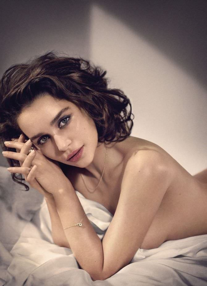 Эмилия Кларк фото Esquire 2015